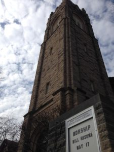 First Congregational Church, Eau Claire, Wisconsin Tower